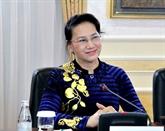 Nguyên Thi Kim Ngân part pour le 27e Forum parlementaire de l'Asie-Pacifique
