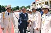 Le Premier ministre Nguyên Xuân Phuc travaille avec la police de Dak Nông