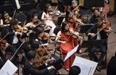 Lancement de l'orchestre symphonique de la jeunesse de Saigon