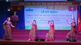 Le 70e anniversaire du Jour de la République de l'Inde célébré à Hô Chi Minh-Ville