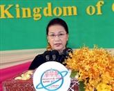 La présidente de l'AN Nguyên Thi Kim Ngân à l'ouverture de la réunion du FPAP-27