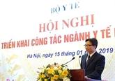 Le vice-Premier ministre Vu Duc Dam exhorte le secteur de la santé