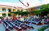 Continuer à standardiser les écoles primaires