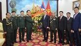 Le Vietnam félicite le Laos à l'occasion du 70e anniversaire de l'armée