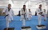 Une classe de taekwondo pas comme les autres