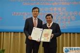 Un dirigeant de Hô Chi Minh-Ville reçoit l'Ordre du Mérite culturel sud-coréen