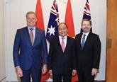 Le président du sénat australien attendu au Vietnam