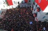 Grève massive dans le secteur public en Tunisie