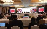 Les hauts responsables de l'ASEAN se préparent pour l'AMM restreinte