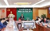 La Commission de contrôle du Parti sanctionne plusieurs fonctionnaires