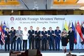 Ouverture de la conférence restreinte des ministres des Affaires étrangères de l'ASEAN 2019