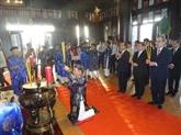 Inauguration de la statue du mandarin militaire Nguyên Huu Canh
