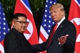 Trump et Kim se donnent rendez-vous fin février pour un nouveau sommet