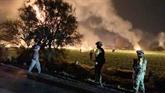 Incendie d'un oléoduc au Mexique: au moins 21 morts, 71 blessés