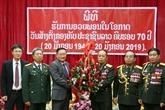 Une haute délégation militaire du Vietnam au Laos