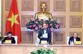 Vers le XIIIe Congrès du Parti : réunion du sous-comité socio-économique