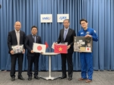 Le Vietnam reçoit des objets du Japon pour une exposition au Musée du cosmos