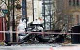 Irlande du Nord: quatre arrestations après l'explosion d'une voiture piégée