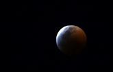 Il y a eu une éclipse totale de Lune dans la nuit de 20 à 21 janvier