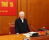 Le chef du Parti demande de renforcer la lutte anti-corruption