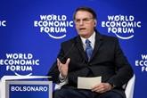 À Davos, Bolsonaro et Pompeo en porte-parole du camp conservateur mondial