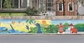 Inauguration de la fresque en céramique du Sri Lanka à Hanoï