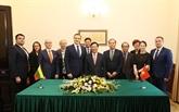 Le ministre littuanien de l'Intérieur reçu à Hanoï