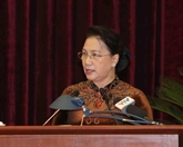La présidente de l'AN souligne le contrôle et la surveillance par le Parti
