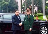 Le vice-Premier ministre et ministre de la Défense de Thaïlande au Vietnam