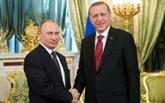 Crise syrienne: Erdogan attendu à Moscou pour des entretiens avec Poutine