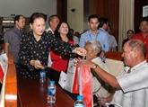 La présidente de l'AN exhorte Hâu Giang à booster l'agriculure