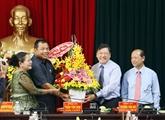 Renforcement de l'amitié entre localités vietnamiennes et cambodgiennes