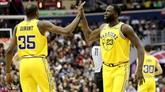 NBA: Golden State en mode capital