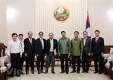 Le Laos va favoriser les activités des investisseurs vietnamiens