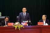 Vuong Dinh Huê inspecte la situation des IDE à Hai Phong et Bac Ninh