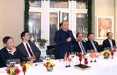 Le Premier ministre achève son séjour en Suisse pour assister au WEF 2019