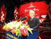 Le leader du Parti exhorte la diaspora à s'unir pour l'essor national