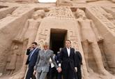 Au Caire, Macron veut resserrer les liens avec l'Égypte de Sissi