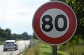 France: la mortalité routière en recul, mais les 80 km/h toujours sur la sellette