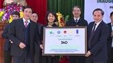 Thanh Hoa: remise de 340 logements résistants aux crues par le PNUD