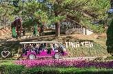 Mise en service de bus électriques au service du tourisme à Lâm Dông