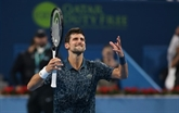 Doha: Djokovic se qualifie dans la douleur pour les quarts de finale