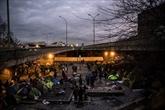 Nouvelle évacuation d'un camp de migrants dans le nord de Paris