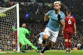 Angleterre: Manchester City met fin à l'invincibilité de Liverpool et relance tout