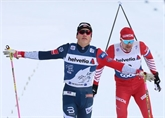 Tour de ski: Klaebo s'impose sur la poursuite et reste en tête du général