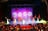 Des arts contribuent à cultiver la relation d'amitié spéciale Vietnam - Laos