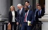USA: peu d'avancées dans les pourparlers visant à mettre fin au