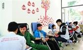 Don du sang: le programme