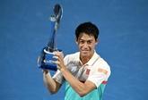 Tennis: Nishikori regoûte enfin à la victoire à Brisbane