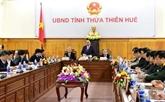 Le Premier ministre Nguyên Xuân Phuc inspecte les préparations du Têt